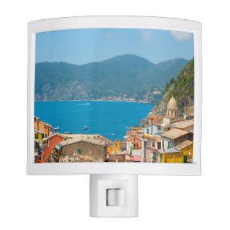 Cinque Terre Italy Nite Lights