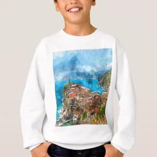 Cinque Terre Italy Vacation Destination Sweatshirt