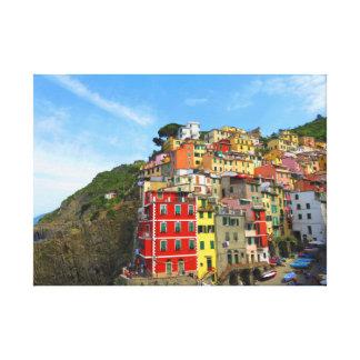 Cinque Terre - Riomaggiore, Italy Canvas Print