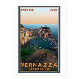 Cinque Terre - Vernazza Postcard