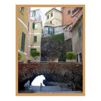 Cinque Terre (Vernazza Street) Postcard