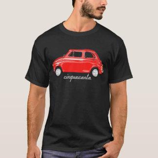 cinquecento t-shirt fiat 500