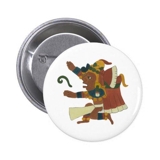 Cinteotl - Aztec/Mayan Creator good Buttons