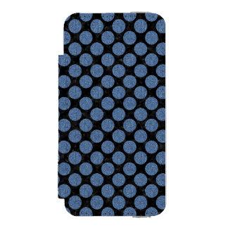 CIR2 BK-MRBL BL-DENM INCIPIO WATSON™ iPhone 5 WALLET CASE