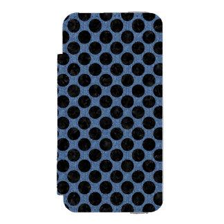 CIR2 BK-MRBL BL-DENM (R) INCIPIO WATSON™ iPhone 5 WALLET CASE