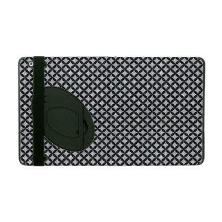 CIR3 BK-GY MARBLE (R) iPad FOLIO CASE