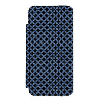 CIR3 BK-MRBL BL-DENM INCIPIO WATSON™ iPhone 5 WALLET CASE