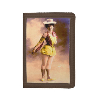 circa 1890 Vera nightclub artiste Tri-fold Wallet