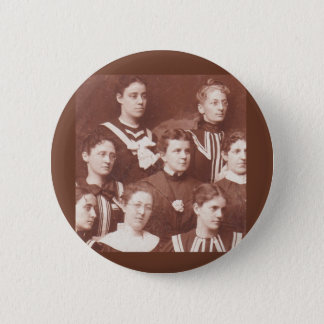 circa 1905 women's choir 2 inch round button