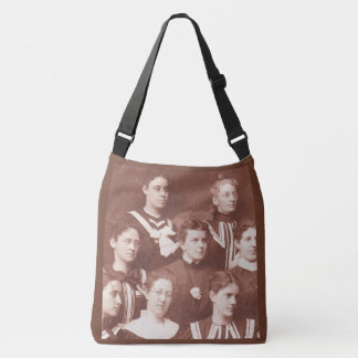 circa 1905 women's choir crossbody bag