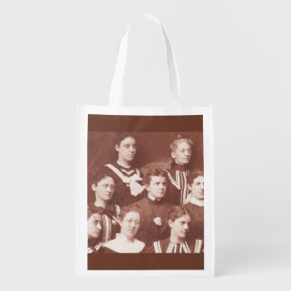 circa 1905 women's choir reusable grocery bag