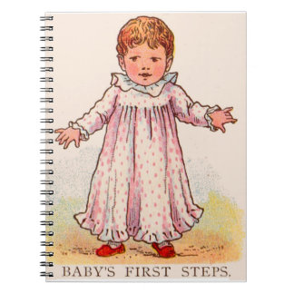 circa 1910 Baby's First Steps Notebook