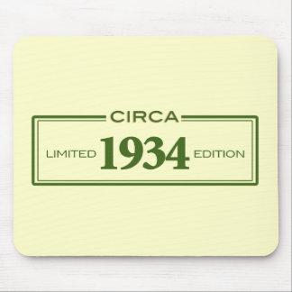 circa 1934 mouse pad