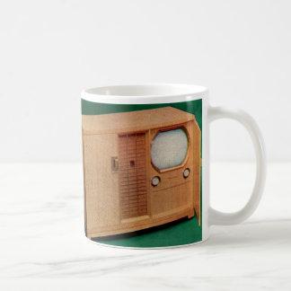 circa 1951 television set Danish modern no. 2 Coffee Mug
