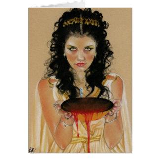 Circe Greek Goddess Card