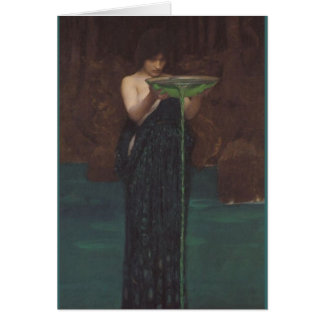 Circe Invidiosa by John William Waterhouse Card