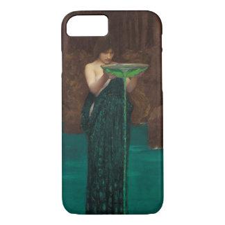 Circe Invidiosa Waterhouse Pre-Raphaelite Fine Art iPhone 8/7 Case