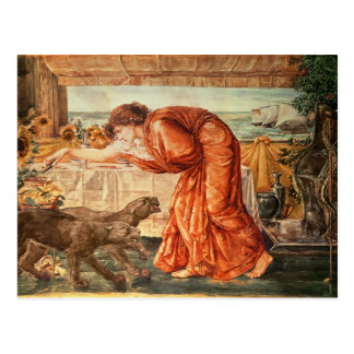 Circe Pouring Poison into a Vase Postcard