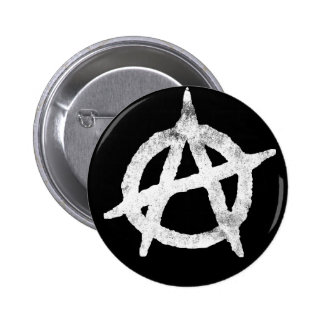 'circle a' anarchy symbol 2 inch round button