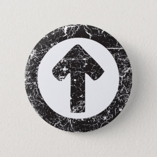 Circle Arrow 2 Inch Round Button