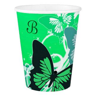 Circle Butterflies 2 Paper Cup