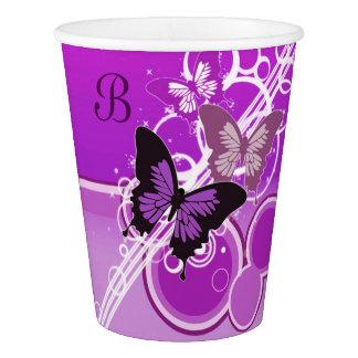 Circle Butterflies 4 Paper Cup