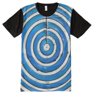 Circle Chic All-Over-Print T-Shirt