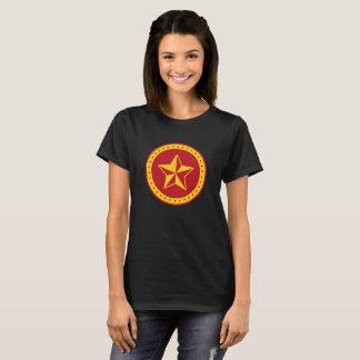 Circle Communist Red Star Women's Basic T-Shirt
