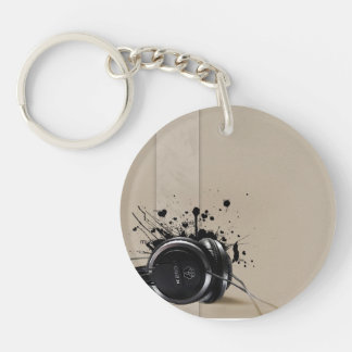 Circle (double-sided) Keychain