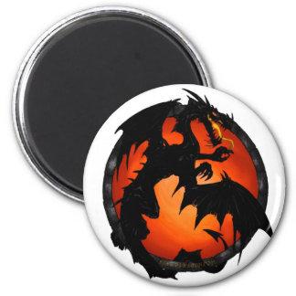 Circle Dragon Magnet