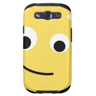Circle Face Smile Galaxy SIII Covers