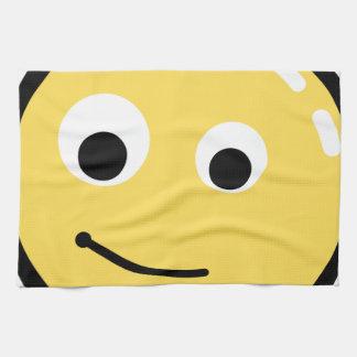 Circle Face Smile Towel