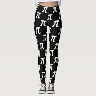 Circle Facts - Greek Letter Pi Leggings