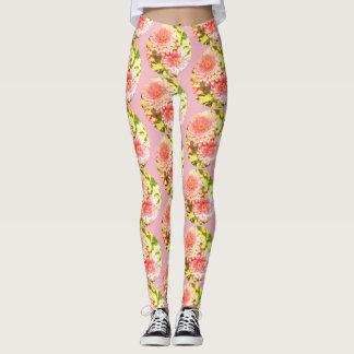 Circle Floral - Leggings