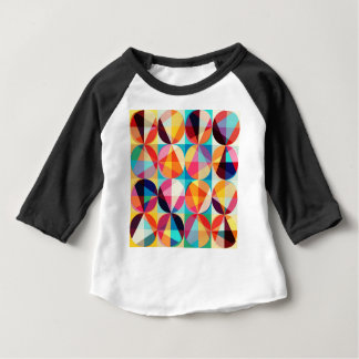 Circle Geometric Kaledioscope Pattern Baby T-Shirt