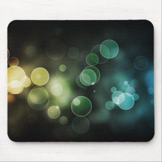 circle light mouse pad