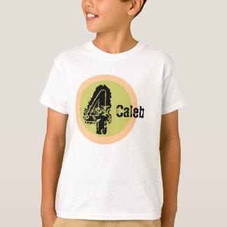 Circle Name and Age 4th Birthday Tshirt
