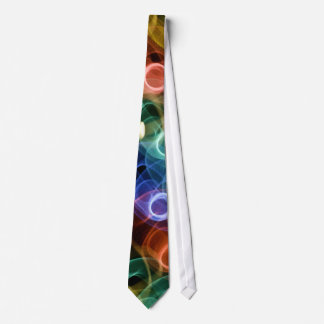 Circle Neon Light Tie