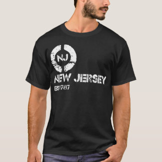 Circle new jersey est T-Shirt