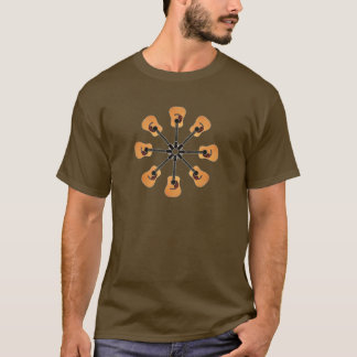 Circle of Acoustic Guitars T-Shirt