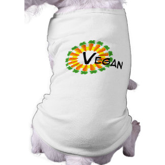 Circle of Carrots Sun Vegan Pet Tshirt