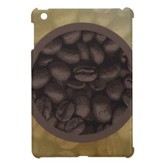 Circle Of Coffee Beans iPad Mini Case