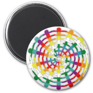 Circle of Colors Magnet