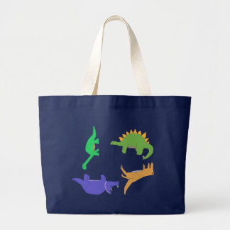 Circle of Dinosaurs bag