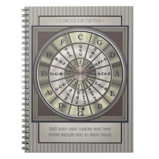 Circle of Fifths Musicians Journal