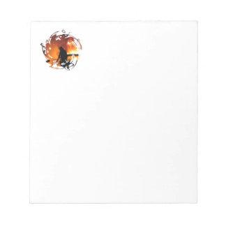 Circle Of Flames Notepad