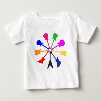 Circle Of Guitars Baby T-Shirt