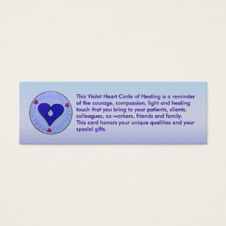 Circle of Healing - Caregiver's Profile Card