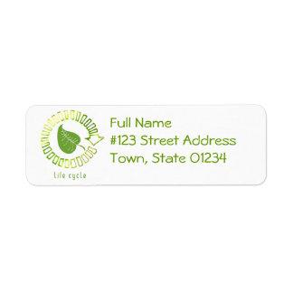 Circle of Life Return Address Label