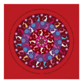 Circle of Love_ Red Posters